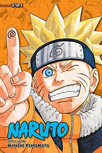 Viz Media Naruto 3 In 1 V09 Volumes 25 26 27