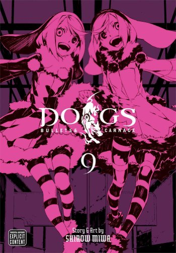 Shirow Miwa Dogs Vol. 9 Bullets & Carnage