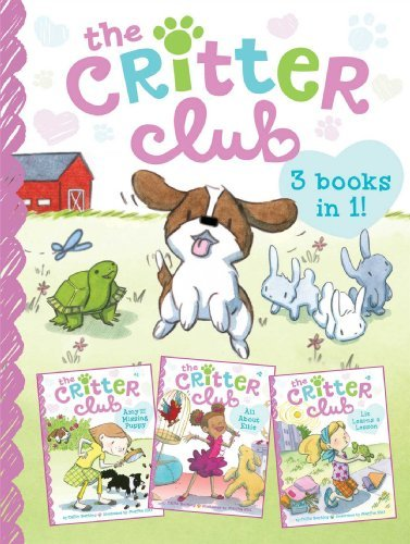 Callie Barkley The Critter Club Amy And The Missing Puppy All About Ellie Liz Lea