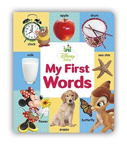 Disney Storybook Art Team My First Words