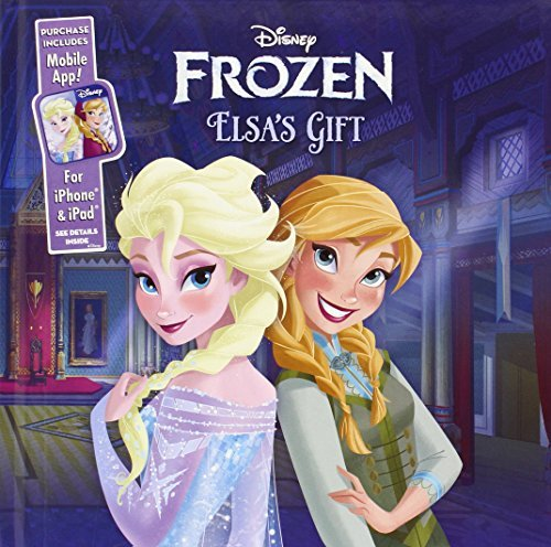 Disney Book Group Elsa's Gift (frozen) Purchase Includes Mobile App! For Iphone & Ipad