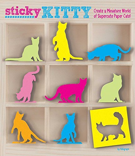 Killigraph Sticky Kitty Create A Miniature World Of Supercute Paper Cats!