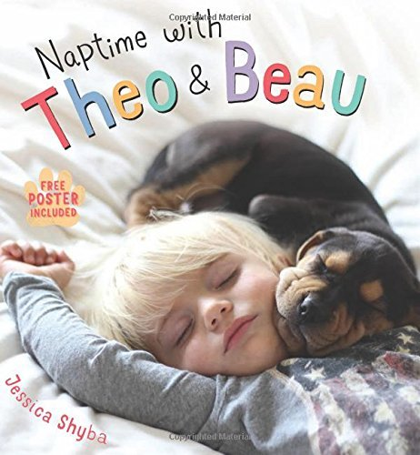 Jessica Shyba Naptime With Theo And Beau With Free Poster Included
