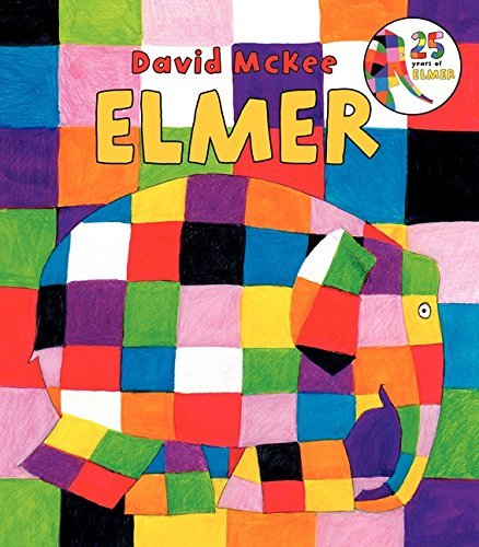 David Mckee Elmer Board Book
