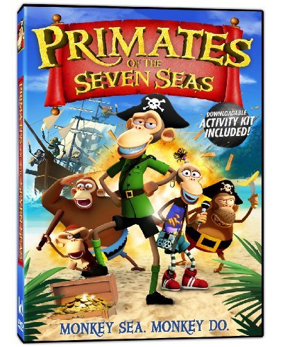 Primates Of The Seven Seas Primates Of The Seven Seas DVD Pg
