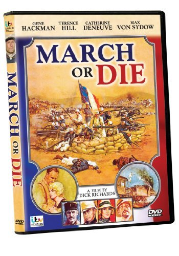 March Or Die Hackman Hill DVD Pg
