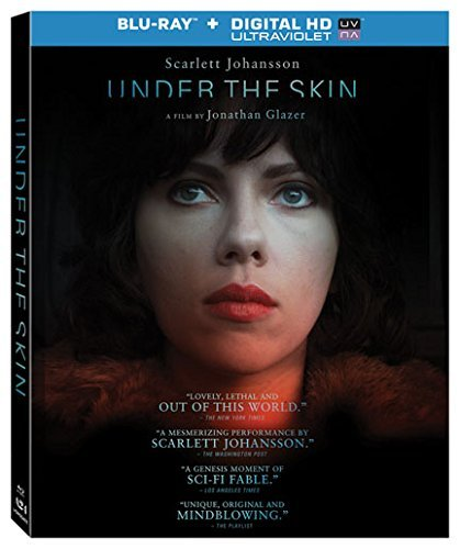 Under The Skin Johansson Mcwilliams Blu Ray Uv R