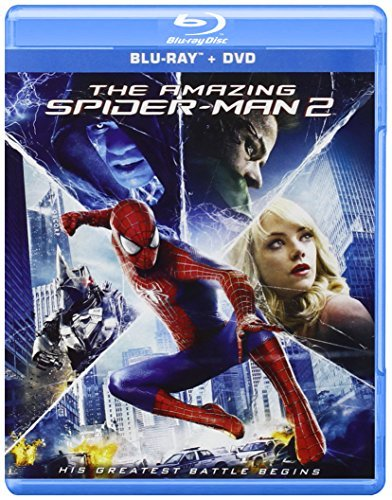 Amazing Spider Man 2 Garfield Stone Blu Ray DVD Uv Pg13