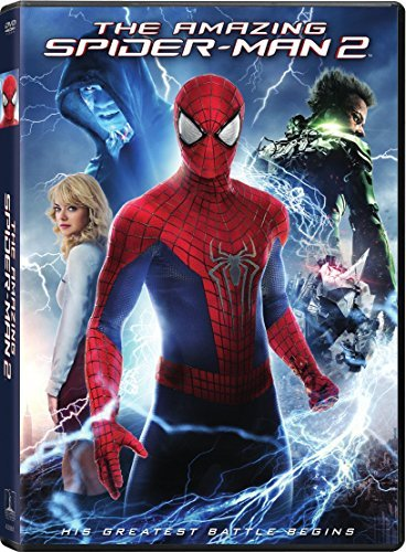 Amazing Spider Man 2 Garfield Stone DVD Uv Pg13