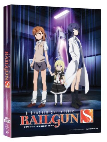 Certain Scientific Railgun Season 2 Part 2 DVD