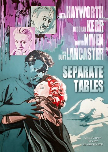Separate Tables (1958) Hayworth Kerr Lancaster DVD Nr