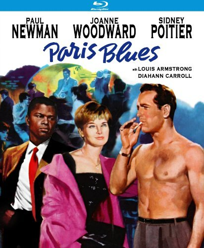 Paris Blues (1961) Newman Woodward Poitier Blu Ray Nr