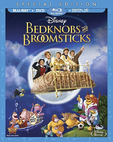 Bedknobs & Broomsticks Disney Blu Ray G