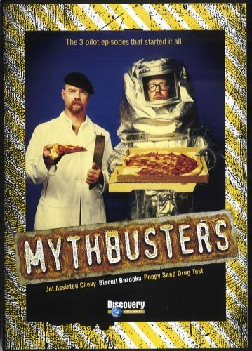 Mythbusters 3 Pilot Episodes That Started It DVD