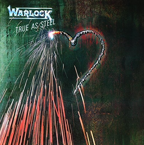 Warlock True As Steel 180g Audiophile Vinyl Insert