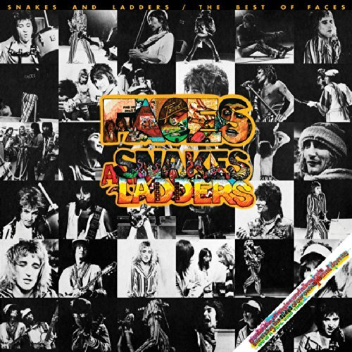 Rod Faces Stewart Snakes & Ladders The Best Of