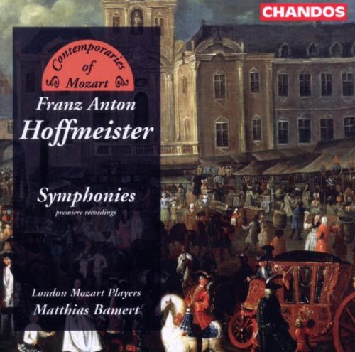 F.A. Hoffmeister La Festa Dell Pace 1791 London Mozart Players Matthias