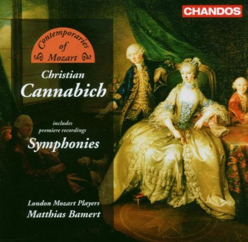 Johann Christian Cannabich Contempora London Mozart Players