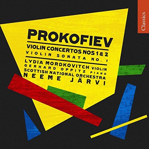 S. Prokofiev Con 1 2 Son 1 Mordkovitch Oppitz Paling Scottish National Orch