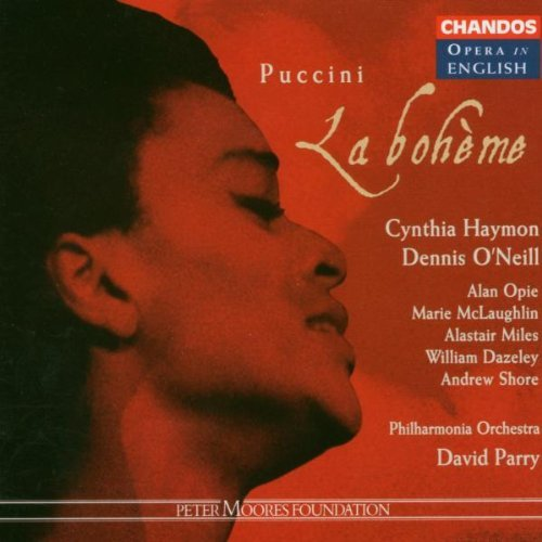 Giacomo Puccini Boheme (la) (sung In English) Haymon O'neill Opie Mclaughlin Parry Po