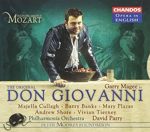 Wolfgang Amadeus Mozart Don Giovanni (sung In English) Magee Cullagh Banks Plazas & Parry Po