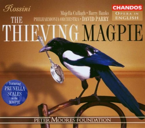 Gioachino Rossini Thieving Magpie Comp Opera Cullagh Banks White Bickley & Parry Po
