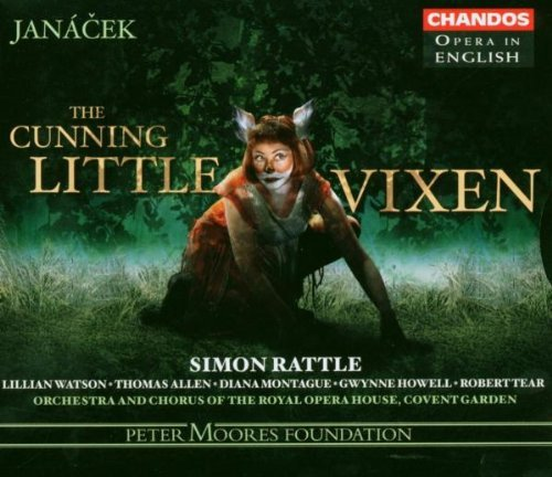 L. Janacek Cunning Little Vixen Knight Watson Montague & Rattle Covent Garden Royal Ope