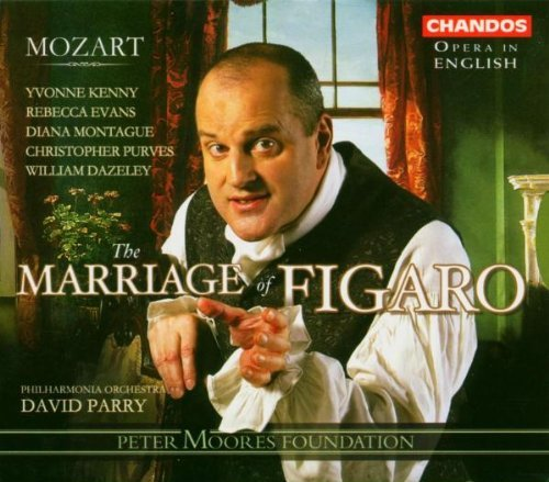 Wolfgang Amadeus Mozart Marriage Of Figaro Purves (bar) Kenny (mez) & Parry Po