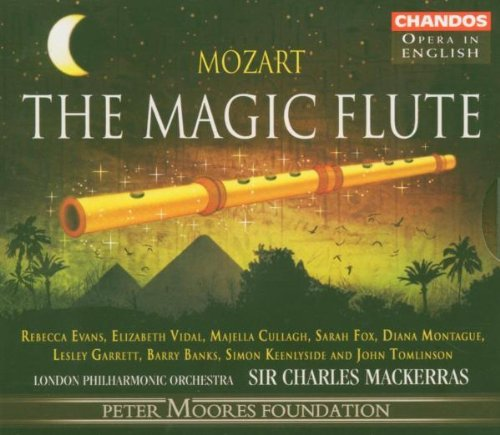 Wolfgang Amadeus Mozart Magic Flute Evans (sop) Vidal (sop) & Mackerras London Po