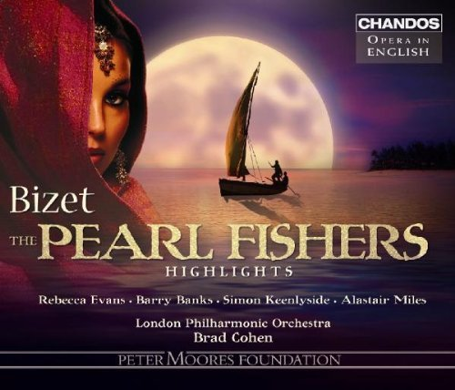 G. Bizet Pearl Fishers Highlights Evans Banks Miles Cohen Lpo