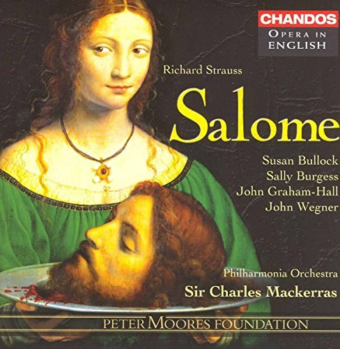 Richard Strauss Salome Comp Opera Graham Hall Burgess Bullock Ma Philharmonia Orch
