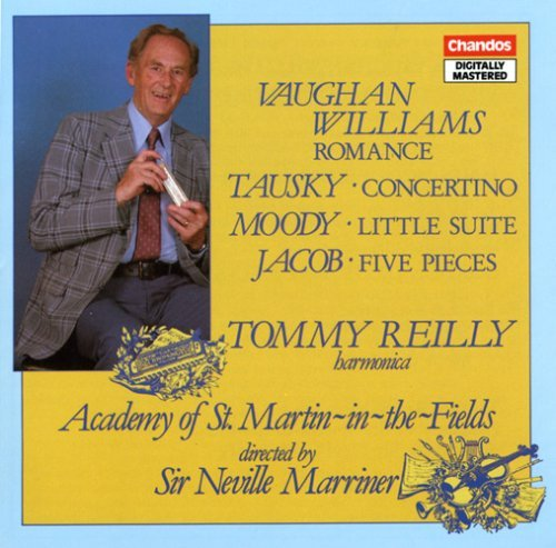 Tommy Reilly Music For Harmonica Reilly (hmc) Marriner Asmf