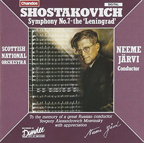 Dmitri Shostakovich Sym 7 Jarvi Scottish Natl Orch