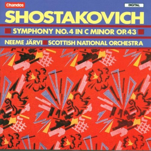 Dmitri Shostakovich Sym 4 Jarvi Scottish Natl Orch