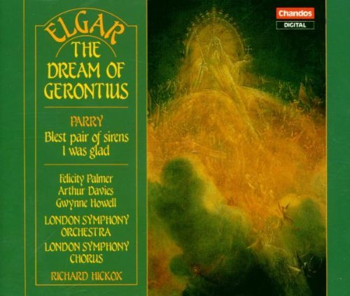 Elgar Parry Dream Of Gerontius Blest Pair Palmer Davies Howell Hickox London So