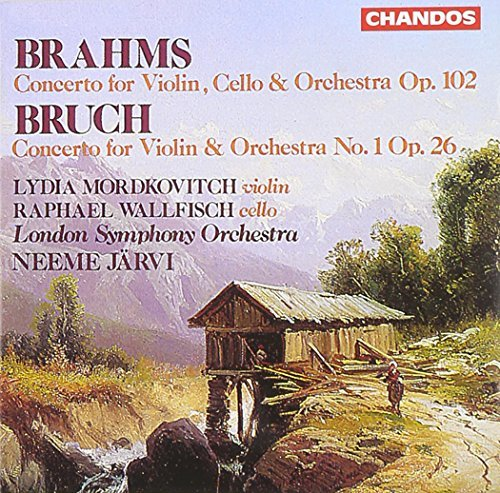 Brahms Bruch Double Concerto Violin Concert Mordkovitch (vn) Wallfisch (v Jarvi London So