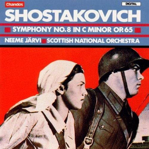 Dmitri Shostakovich Sym 8 Jarvi Scottish Natl Orch