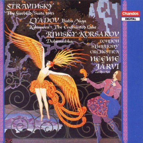 Stravinsky Liadov Etc Firebird Suite Baba Yaga Kik Jarvi London So