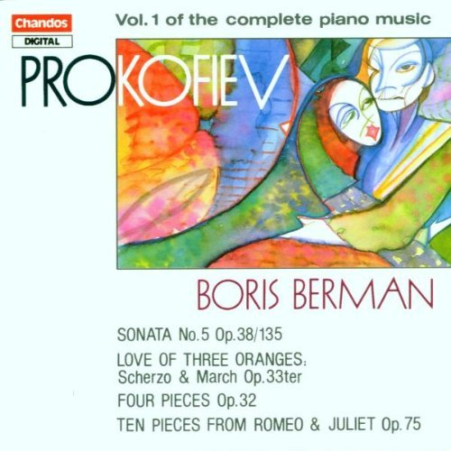 S. Prokofiev Piano Music Vol. 1 Berman*boris (pno)