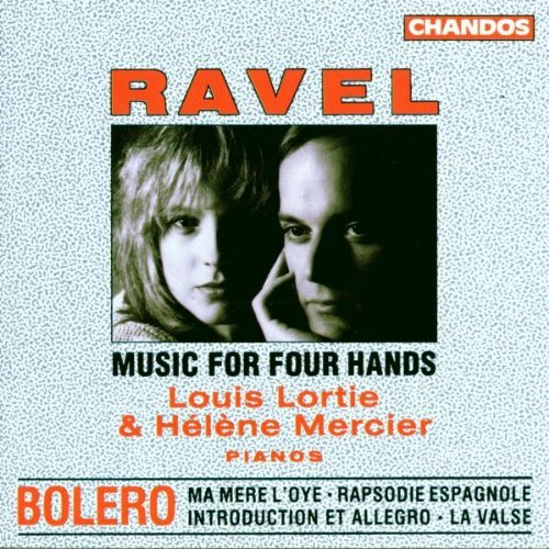 Maurice Ravel Works For 2 Pianos & Piano D Lortie Mercier (pnos)