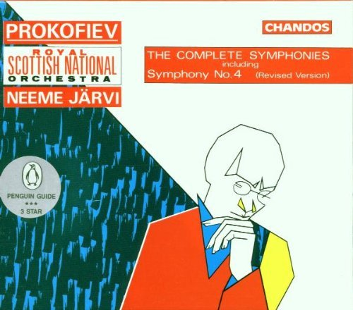 S. Prokofiev Sym 1 7 Comp Jarvi Scottish Natl Orch