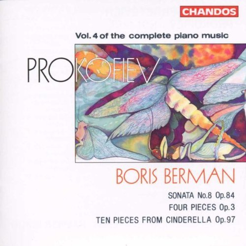 S. Prokofiev Piano Music Vol. 4 Berman*boris (pno)