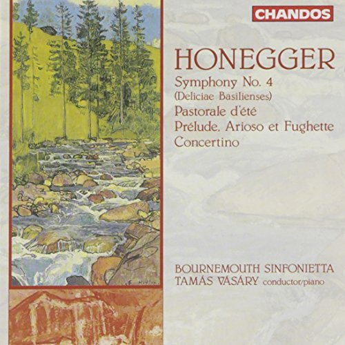 A. Honegger Sym 4 Pastrol D'ete Prelude Vasary Bournemouth Sinf