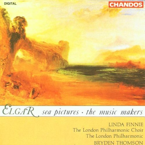 E. Elgar Sea Pictures Music Makers Finnie (cta) Elms (org) Thomson London Po