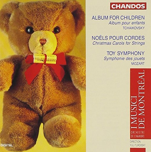 L. Etc Tchaikovsky Mozart Album For The Young Christmas Turovsky I Musici De Montreal