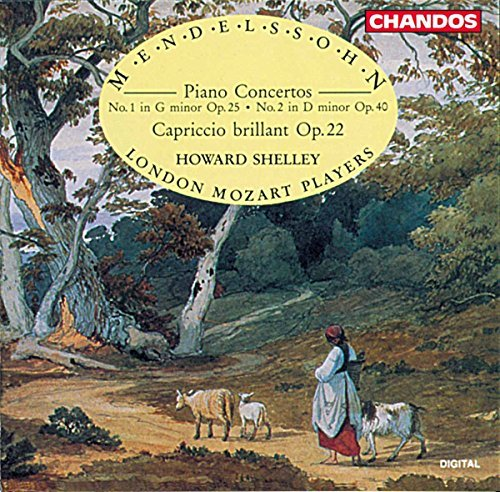 Felix Mendelssohn Con Pno 1 2 Cap Brillante Shelley*howard (pno) Shelley London Mozart Players