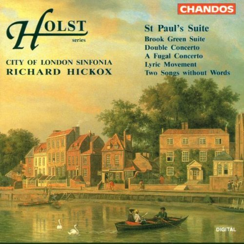 G. Holst Double Cto. For 2 Violins 2 St Hickox City Of London Sinf