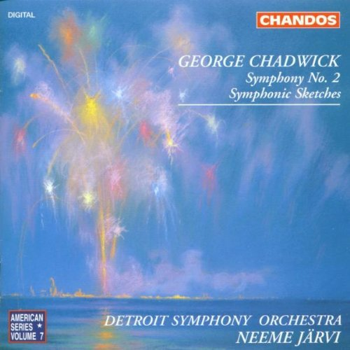 G.W. Chadwick Sym 2 Sym Sketches (4) & Jarvi Deroit So