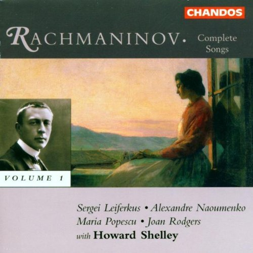 S. Rachmaninoff Complete Songs Vol. 1 Shelley Rodgers Popescu &