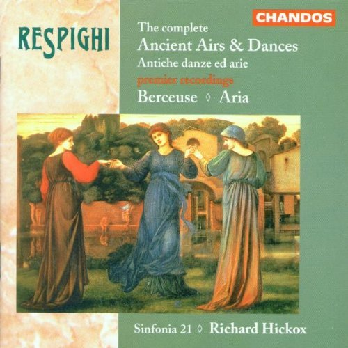 O. Respighi Ancient Airs & Dances Berc Hickox Sinf 21